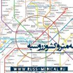 نقشه مترو روسیه