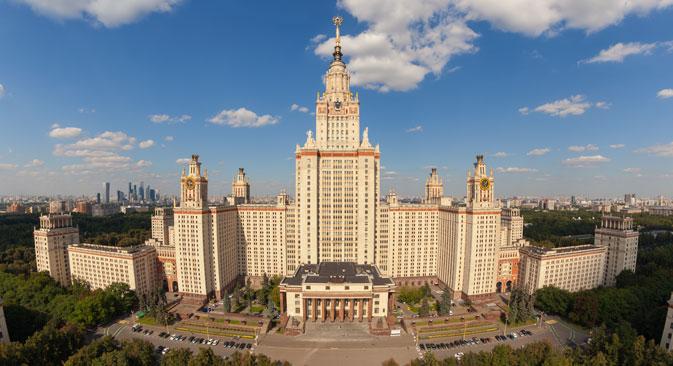 رتبه بندی دانشگاه های روسیه