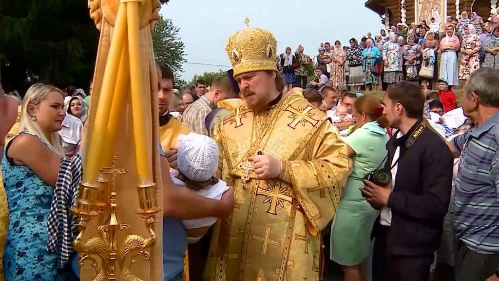 روز تعمید حضرت مسیح در روسیه