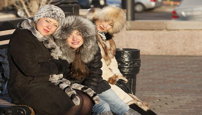 پوشش مردم روسیه و حجاب