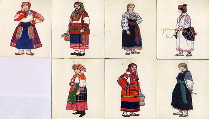 پوشش مردم روس