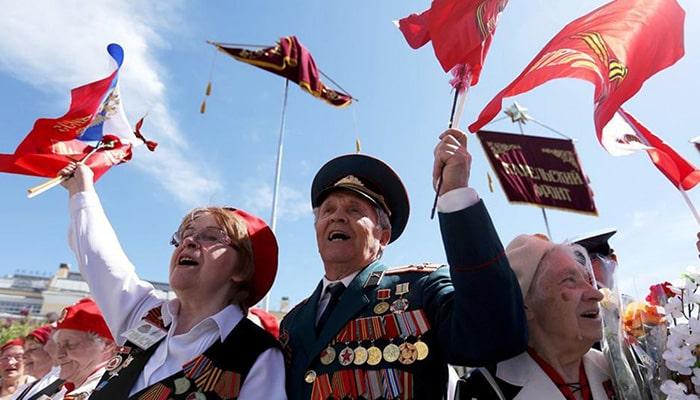جشن پیروزی روسیه