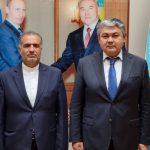 دیدار سفیر کشور با سفیر قزاقستان در مسکو