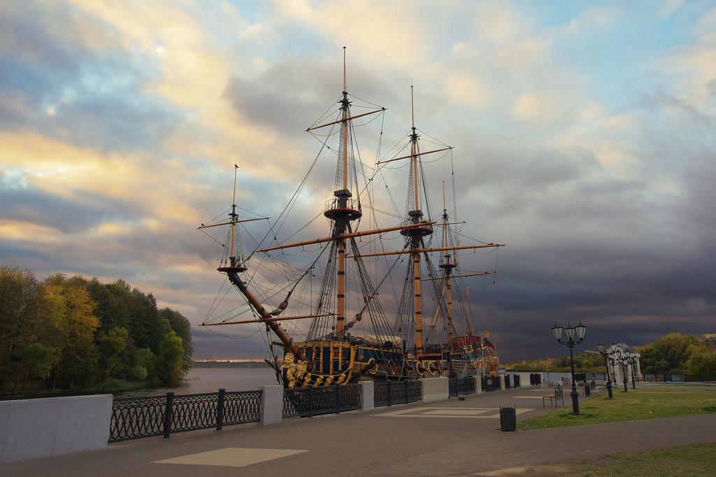 اولین کشتی بزرگ جنگی ناوگان روسیه در وورونژ