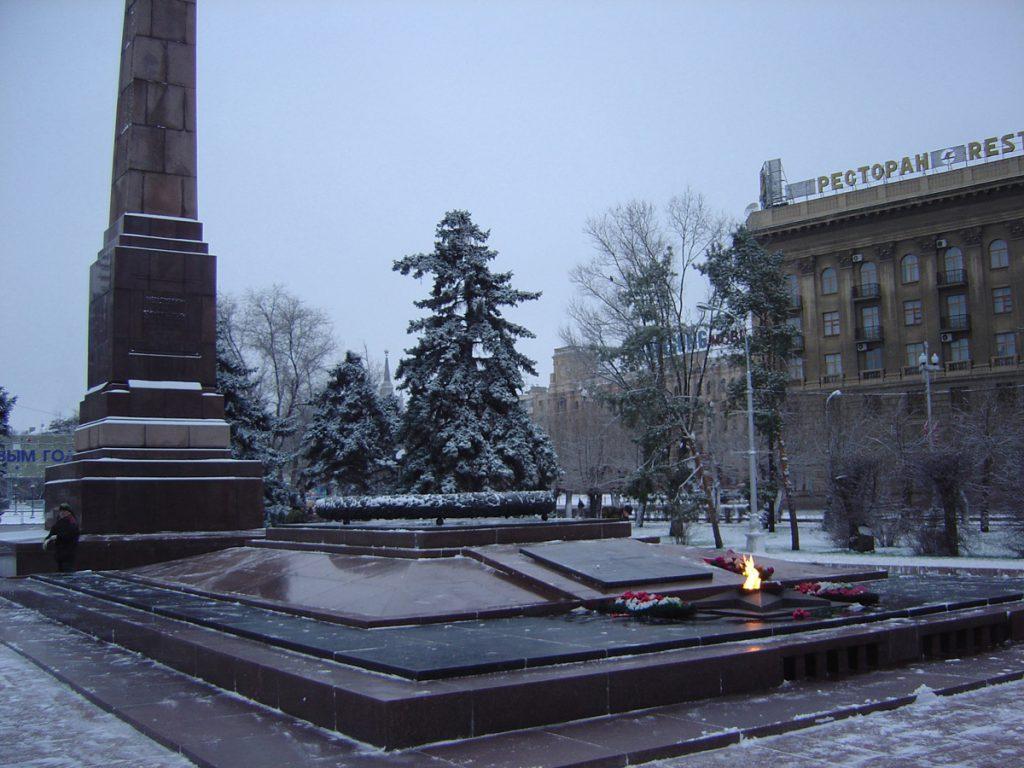 خیابان قهرمانان _ شهر ولگاگراد